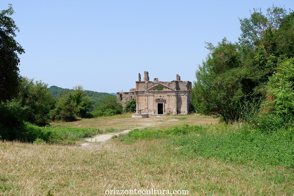 Chiesa di San Bonaventura, borgo Antica Monterano