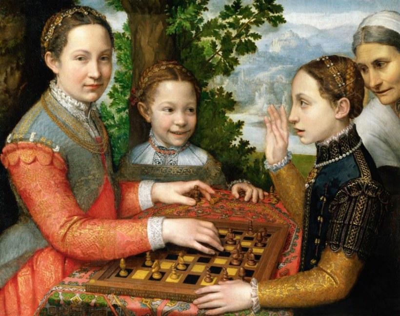 La donna nell'arte Sofonisba Anguissola