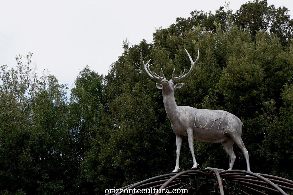 Mario Merz, senza titolo dettaglio, Back to Nature arte Villa Borghese
