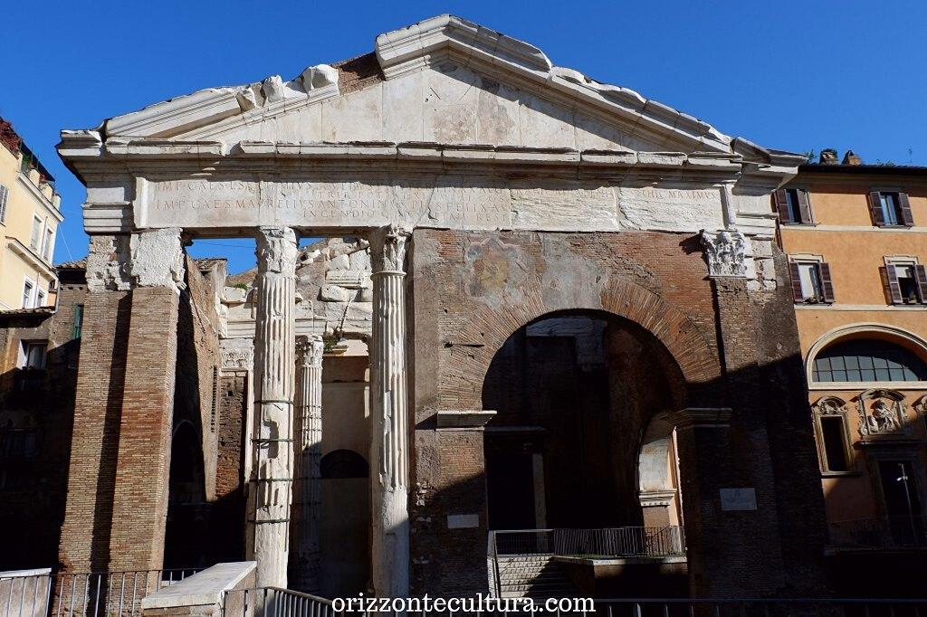 Portico d'Ottavia, Ghetto Roma