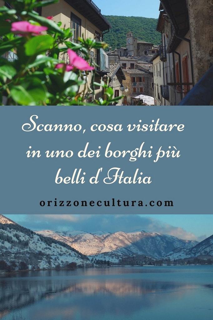 Scanno cosa visitare in uno dei borghi più belli d'Italia - Pinterest 2