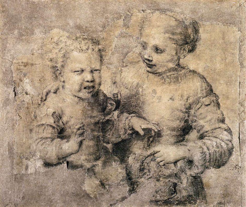 Sofonisba Anguissola, Fanciullo morso da un gambero