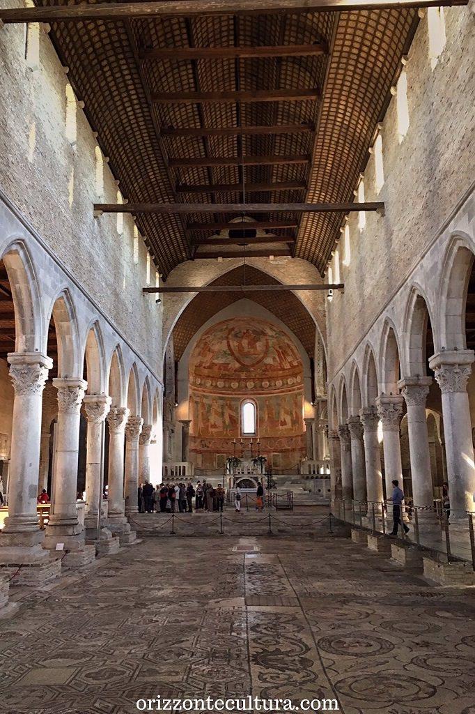 Interno della Basilica Patriarcale di Aquileia, 15 siti Unesco visitare Italia