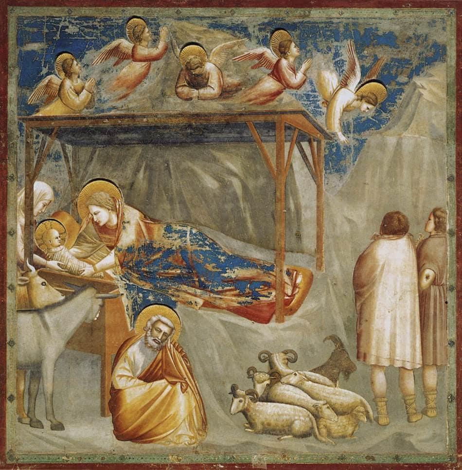 Giotto di Bondone, Natività di Gesù, natività più belle storia arte
