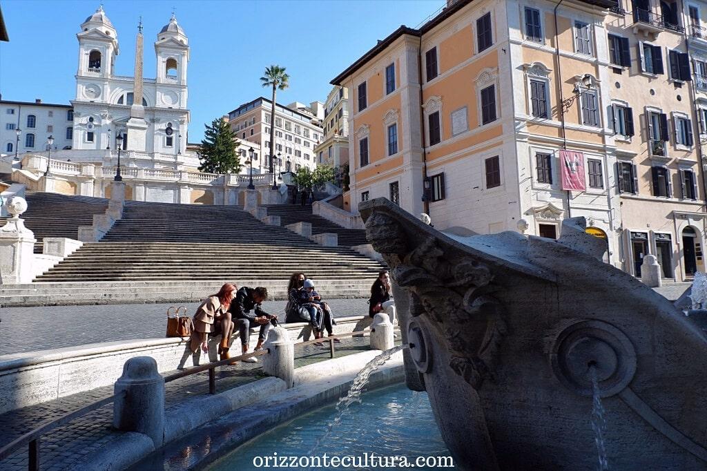 Barcaccia, piazza di Spagna, Roma