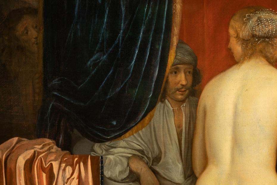 L'ora dello Spettatore, Palazzo Barberini, Eglon Van Der Neer, Foto Alberto Novelli