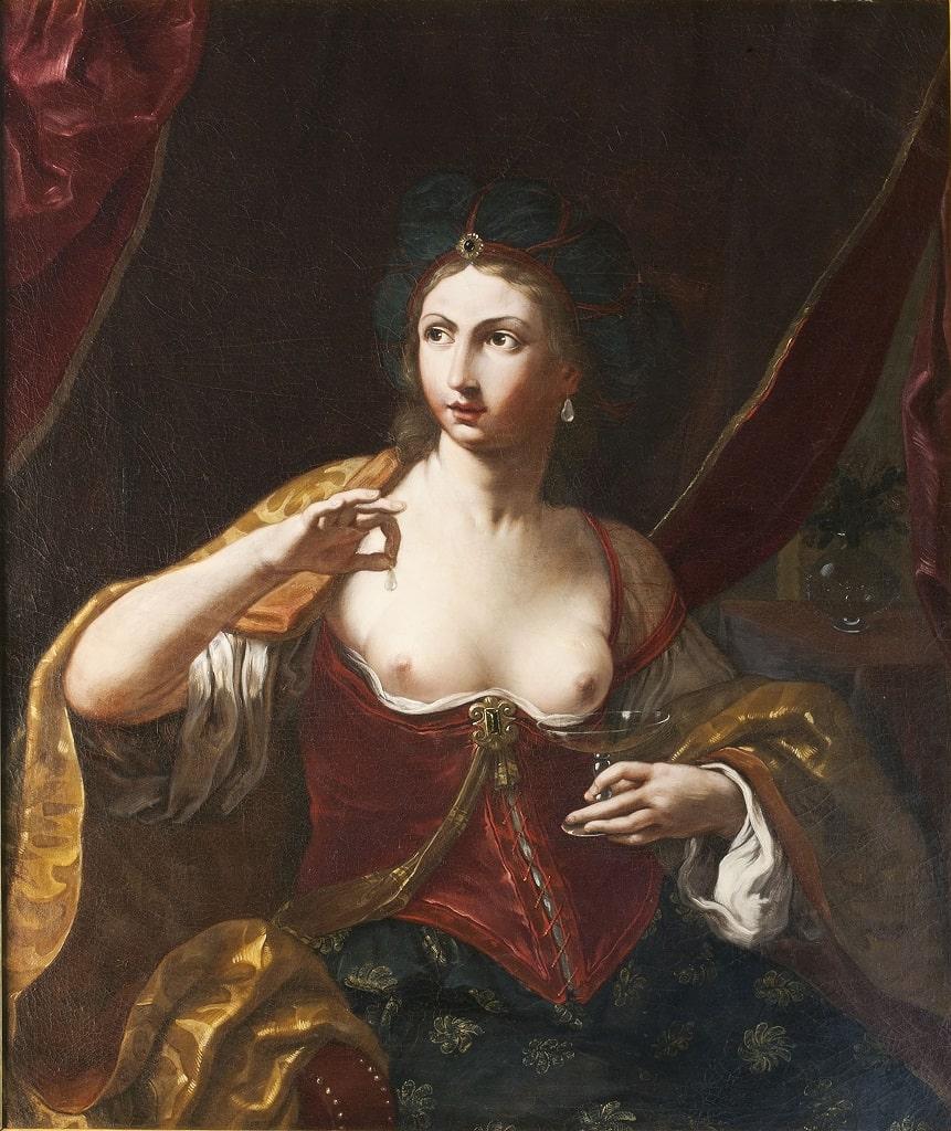 Elisabetta Sirani, Cleopatra, signore arte mostra Palazzo Reale