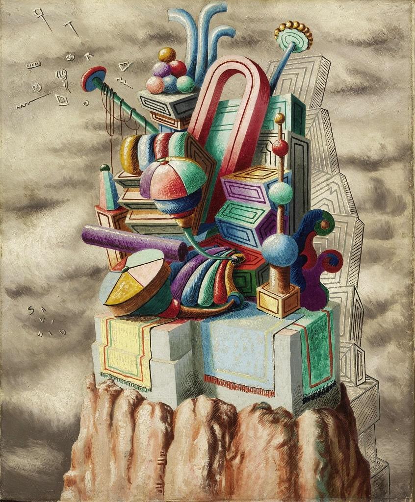 Alberto Savinio, Monumento ai giocattoli