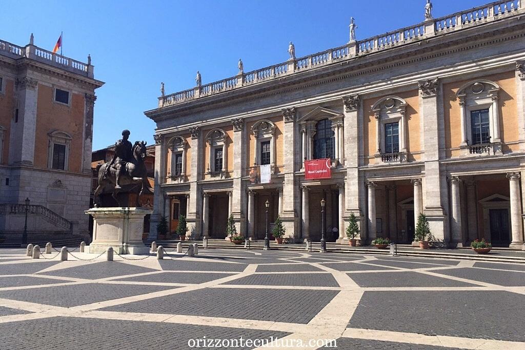 Piazza del Campidoglio, piazze più belle Roma