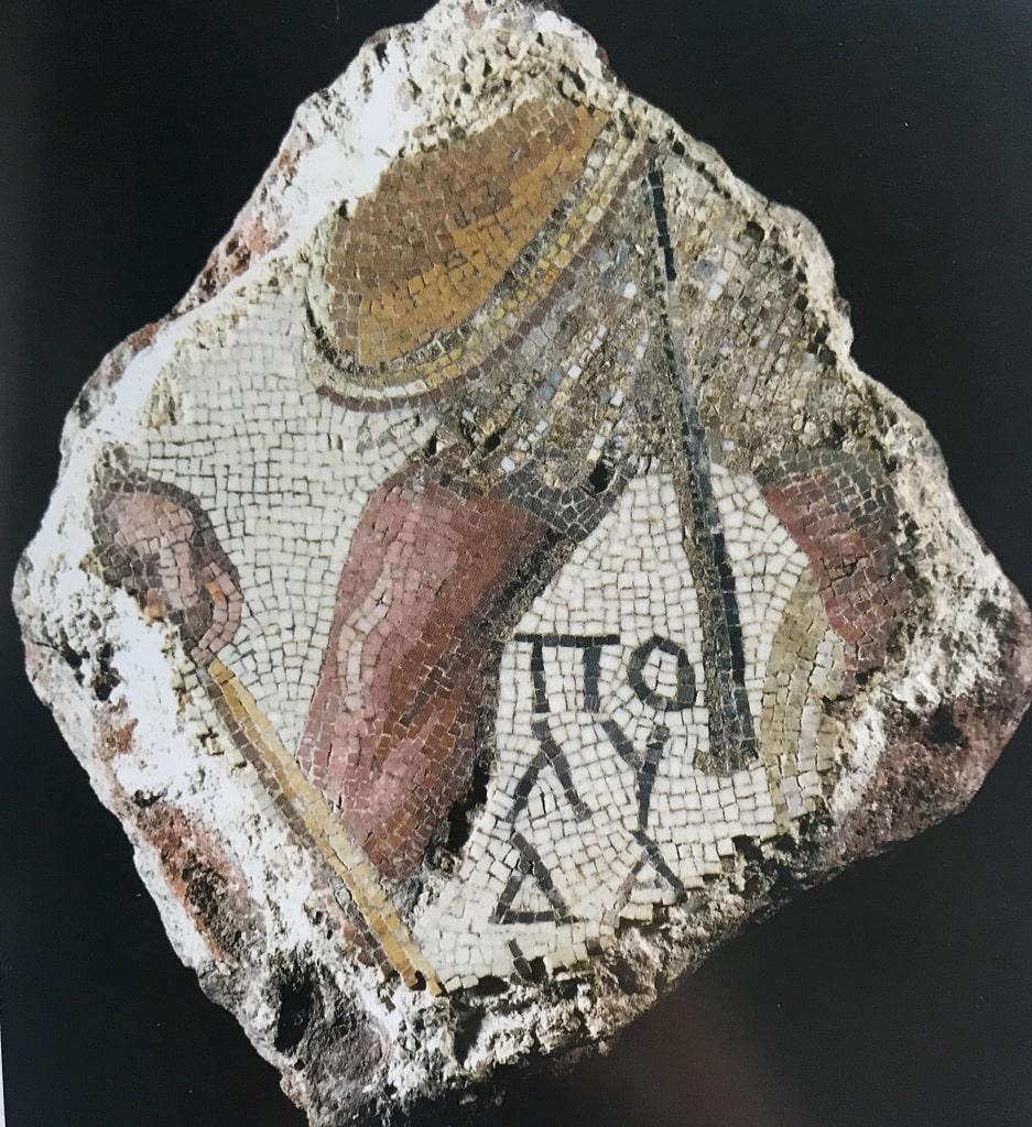 Mosaico policromo con scena di pesca, mosaici dalle Collezioni Capitoline
