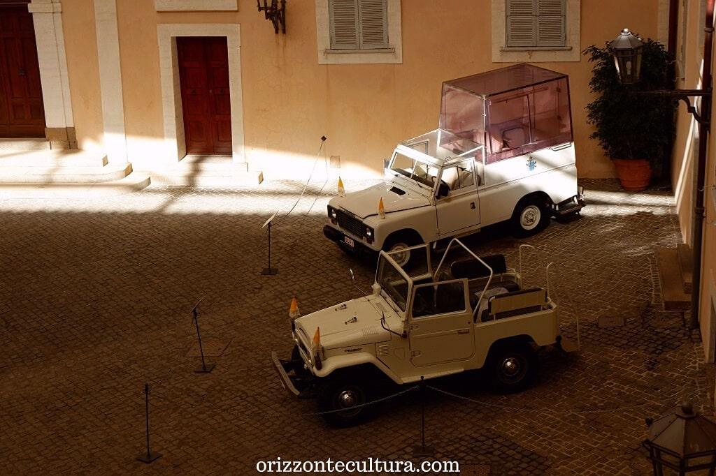 Due Papamobile, come visitare il Palazzo Apostolico di Castel Gandolfo