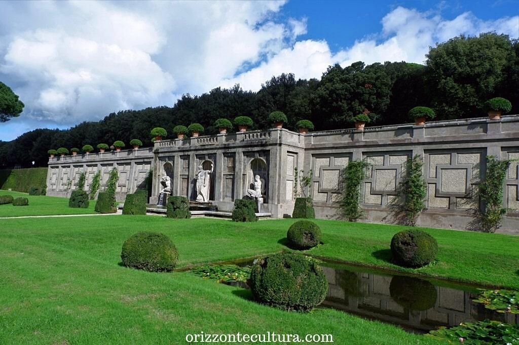 Passeggiata nei Giardini di Villa Barberini, cosa vedere nelle Ville Pontificie di Castel Gandolfo