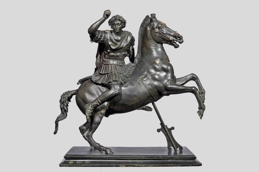 Statuetta di Alessandro Magno a cavallo, Napoleone e il mito di Roma