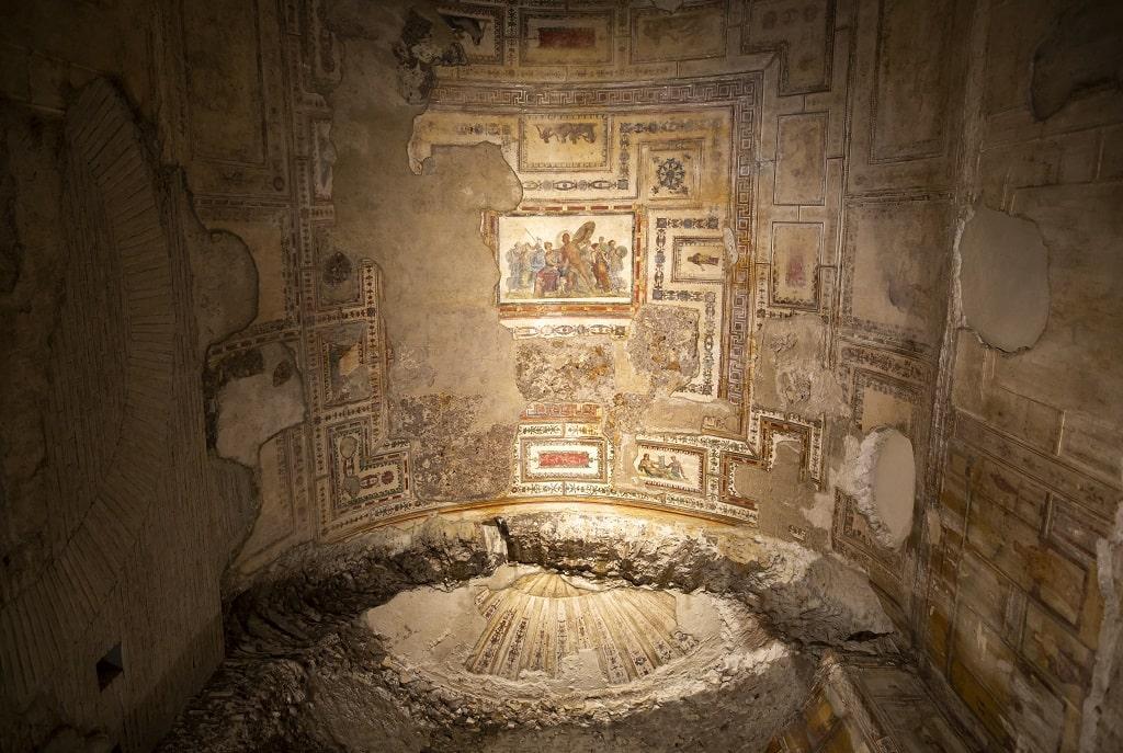 Domus Aurea Padiglione Colle Oppio, mostra Raffaello Domus Aurea