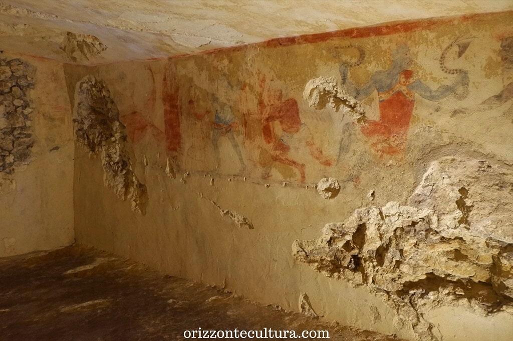 Tomba dei Demoni Azzurri, Necropoli Tarquinia cosa visitare