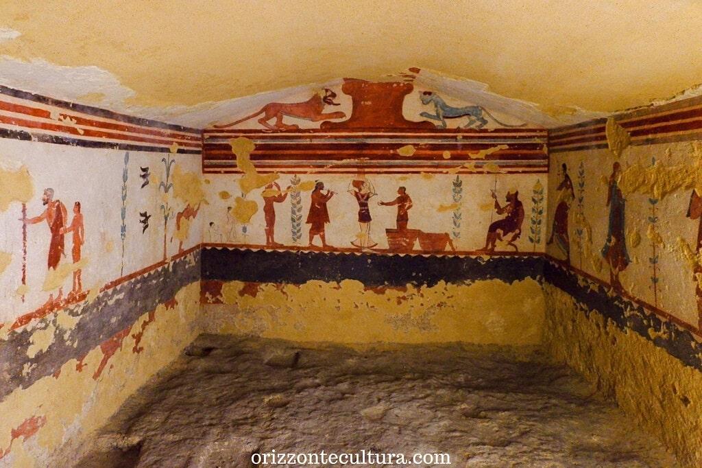 Tomba dei Giocolieri, Necropoli di Monterozzi Tarquinia