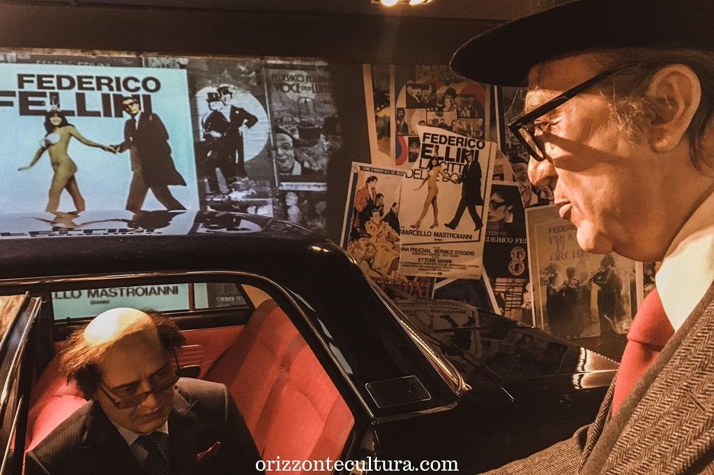 Installazione a Cinecittà con Federico Fellini e Dante Ferretti, come visitare gli Studi Cinecittà