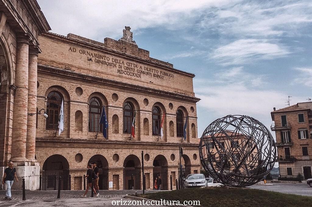 Macerata e lo Sferisterio, luoghi visitare Marche