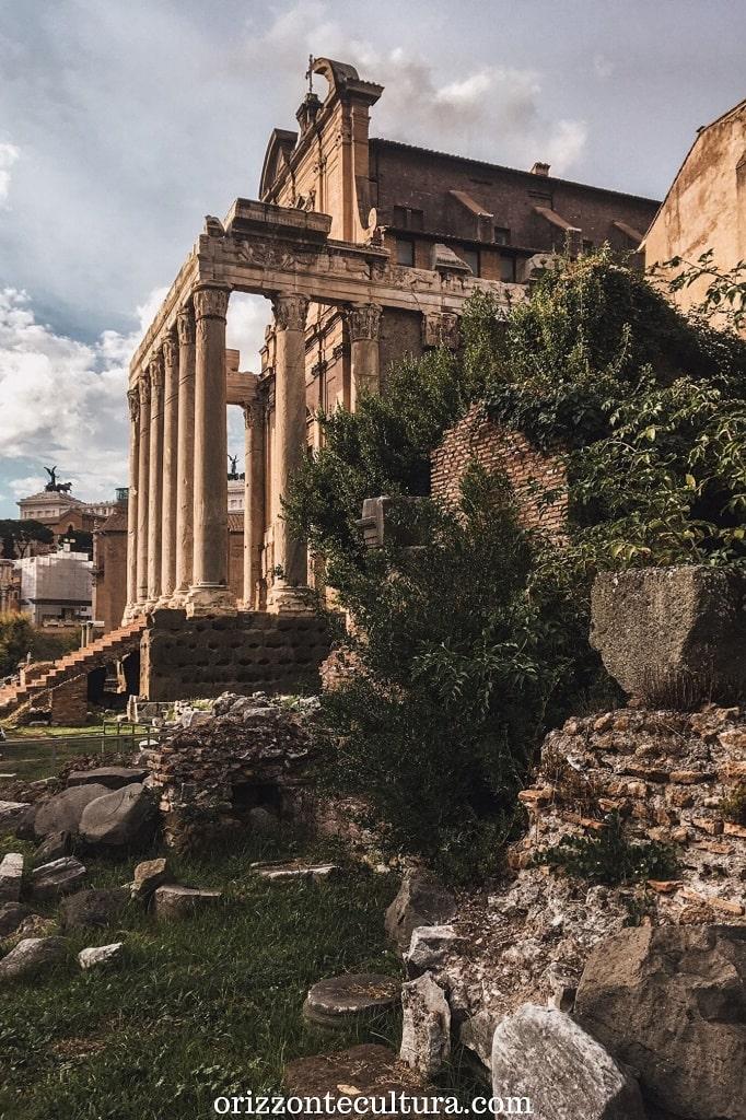 Veduta sui Fori, vedere Roma in 24 ore