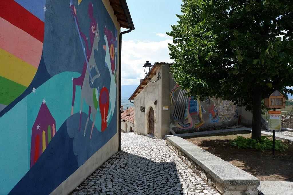Street art tra le strade di Aielli