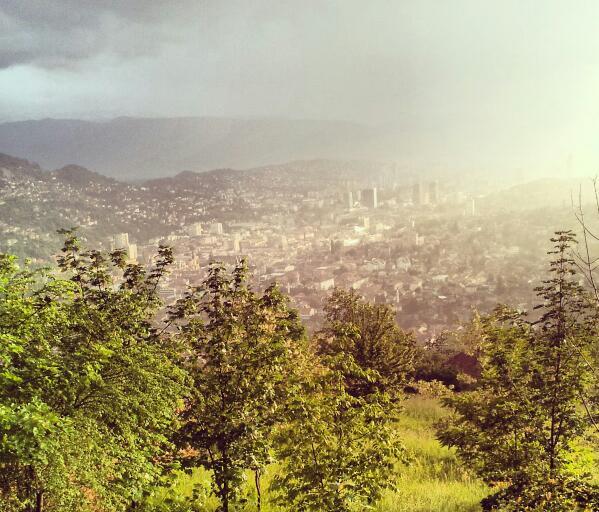 Sarajevo dall'alto