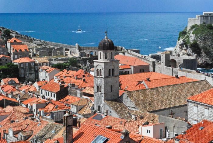 La vista dalle mura di Dubrovnik (foto di Patrick Colgan)