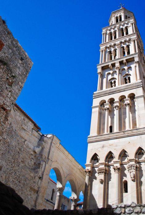 Split la torre della cattedrale