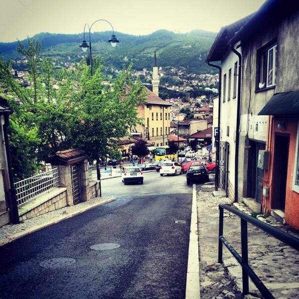 Le strade di Sarajevo