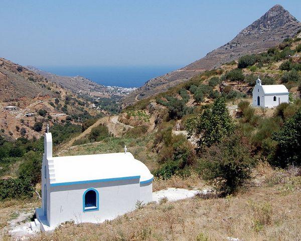 Le chiesette di Naxos
