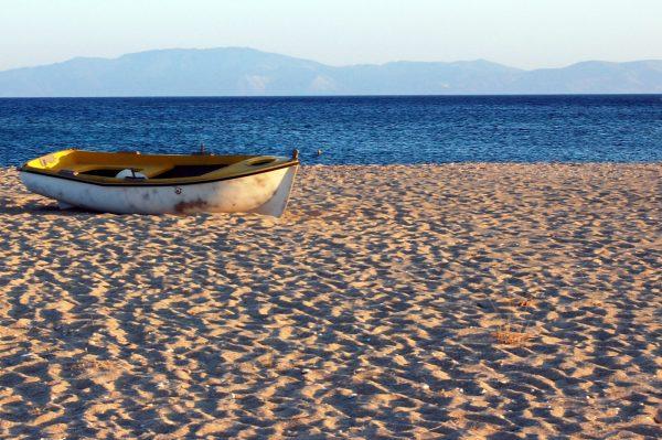 Le spiagge di Naxos: Mikri Vigla