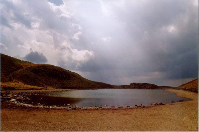 Il lago Scaffaiolo