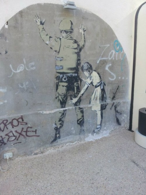 La mia opera preferita di Banksy, a Betlemme