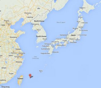 Ishigaki, da Google maps