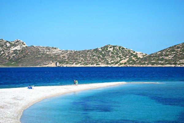 La splendida spiaggia di Agios Pavlos, Amorgos (foto di Patrick Colgan)