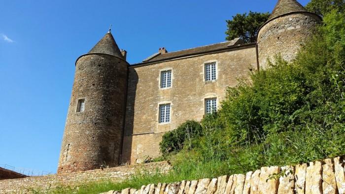 Il castello di Brancion