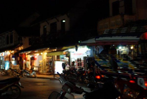Luang Prabang, tuk tuk