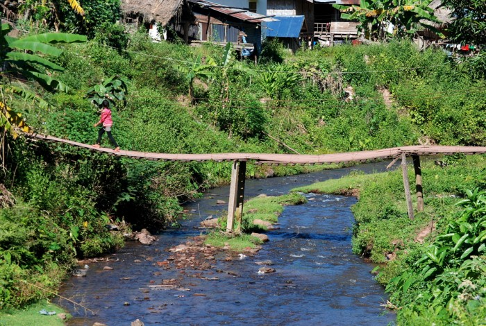 Nam Ha village, Laos