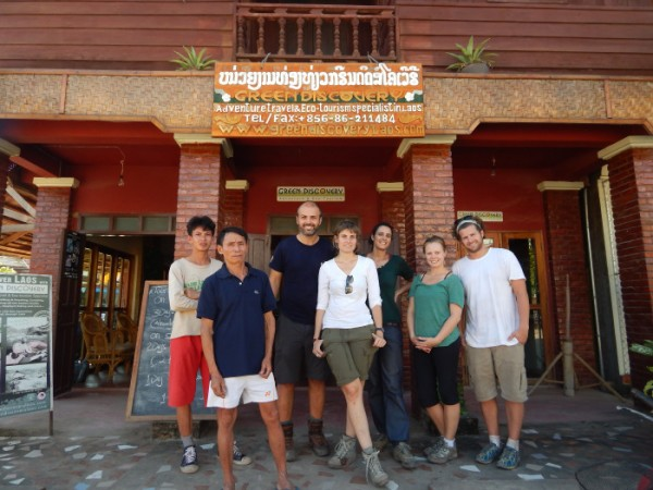 Group pic at the end of the hike at Green Discovery