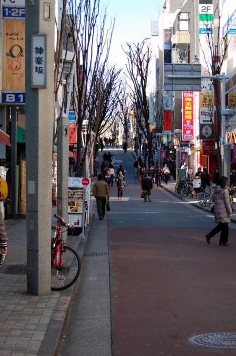 Una zona insolita di Tokyo: Kagurazaka dori