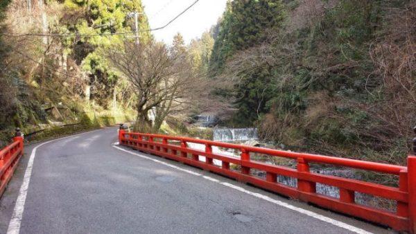 The road to Kibune