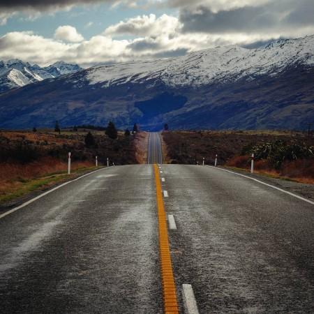 Le strade della Nuova Zelanda (foto di Patrick Colgan, 2015)