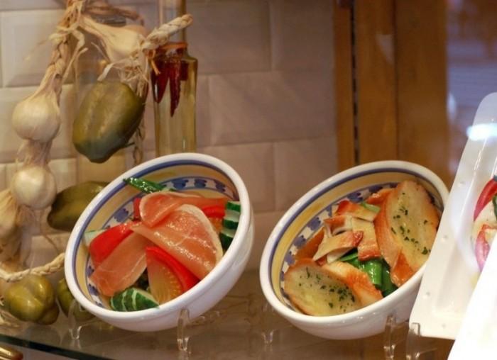 Il cibo di plastica per cui è famosa Kappabashi dori