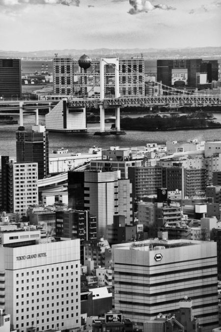 Odaiba e il Rainbow bridge