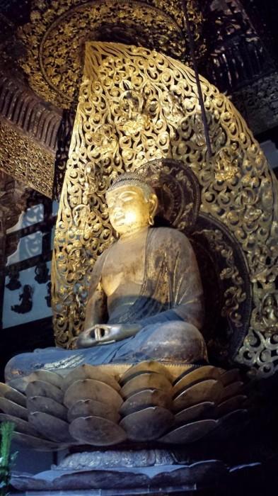 La grande statua di Amida Buddha a Uji