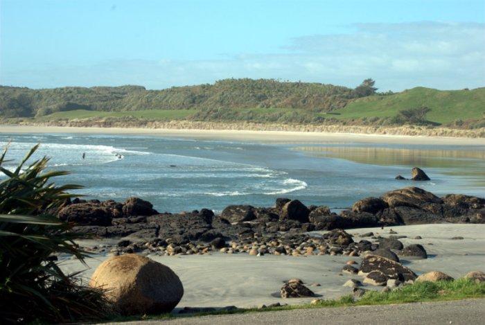 Panorama dalle parti di Cape Foulwind