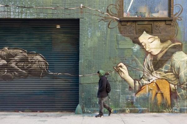 Street art a Chelsea