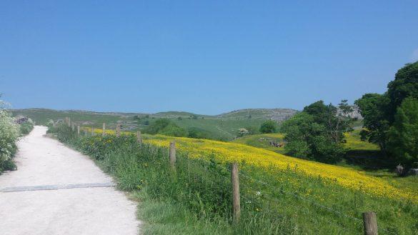 Camminare nelle Yorkshire Dales, Malhamdale