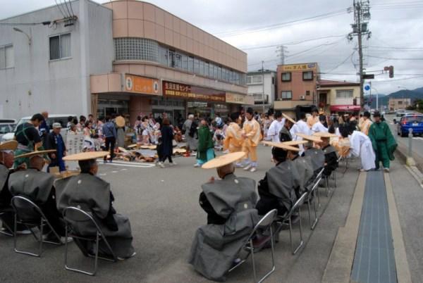 Takayama matsuri, a needed break