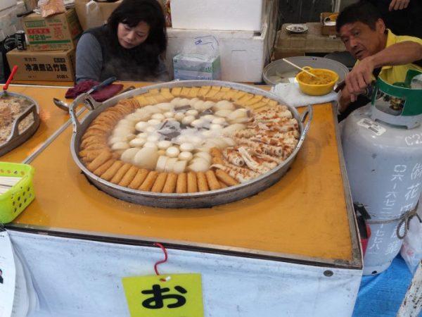 Oden: verdure e tofu in brodo