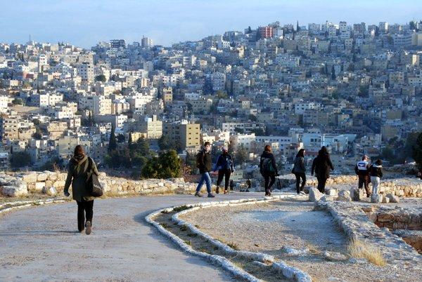 Vista di Amman